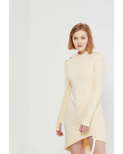 Платье весеннее желтый Sitlly