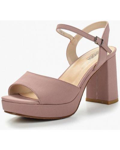 Розовые босоножки на каблуке Zenden Woman