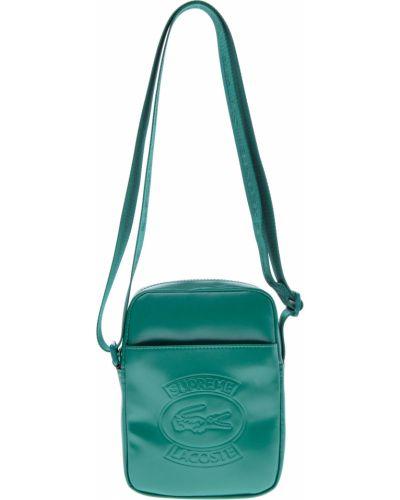Кожаная сумка текстильная Supreme