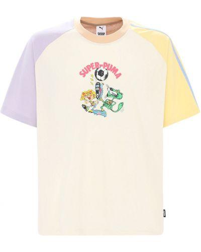 T-shirt bawełniany Puma Select