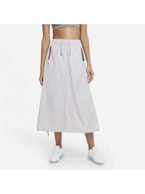 Fioletowa spódnica materiałowa Nike