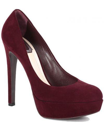 Кожаные туфли - красные Christian Dior