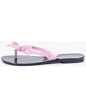 Сланцы розовый пляжные Melissa