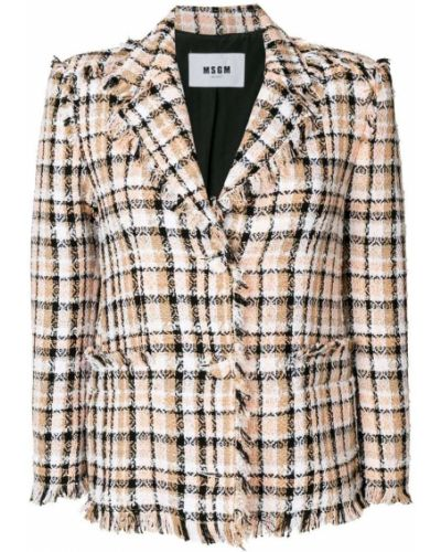 Длинная куртка с бахромой Msgm