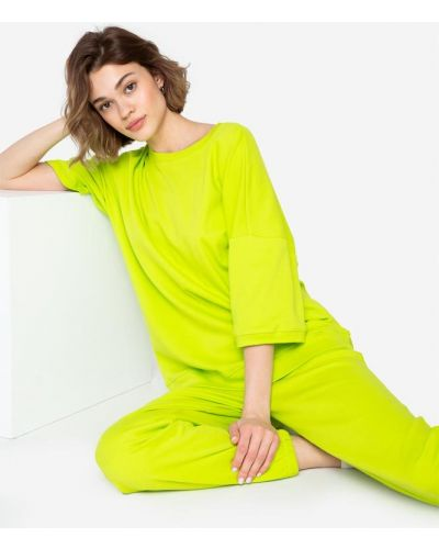 Домашние зеленые брюки Gloria Jeans