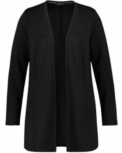 Czarny sweter dzianinowy Samoon