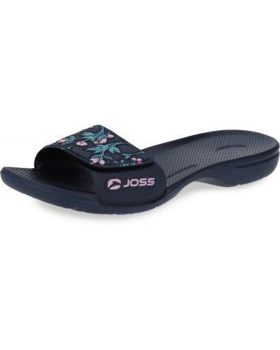 Облегченные фиолетовые шлепанцы Joss
