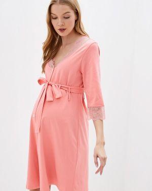 Домашний халат - розовый Hunny Mammy