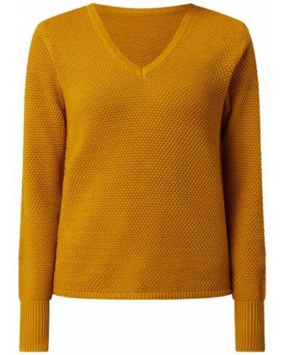 Żółty sweter bawełniany Vila