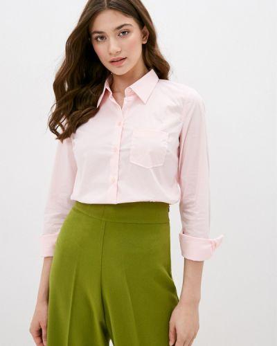 Розовая с рукавами рубашка United Colors Of Benetton