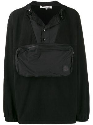 Bluza z kapturem z kapturem czarna Mcq Alexander Mcqueen