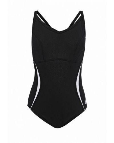 Черный спортивный купальник Madwave