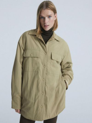 Куртка - зеленая Oysho
