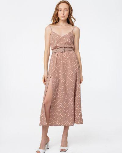 Платье в горошек - бежевое Magnetic