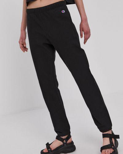 Czarne spodnie bawełniane Champion