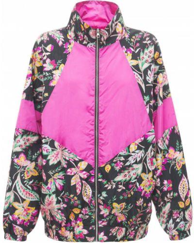 Розовая куртка двусторонняя с манжетами Isabel Marant étoile