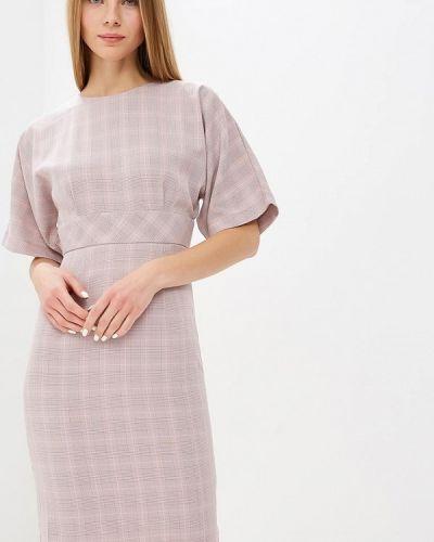 Платье осеннее розовое Tutto Bene