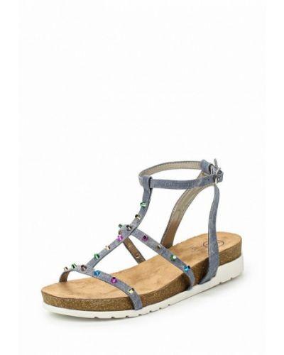 Синие сандалии Kylie