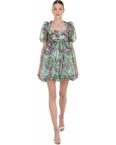 Платье с декольте из органзы Vivetta