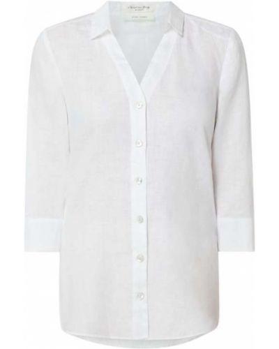 Biała bluzka z dekoltem w serek Christian Berg Women