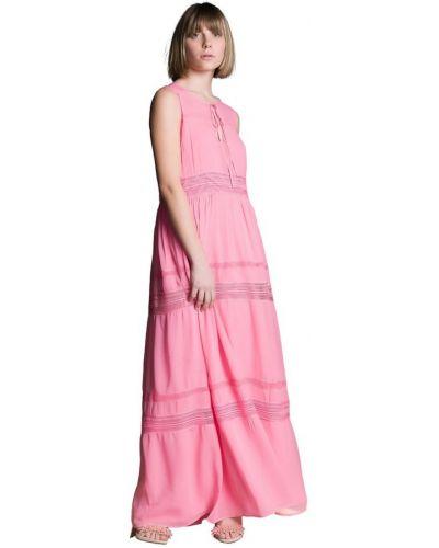 Różowa sukienka Atos Lombardini