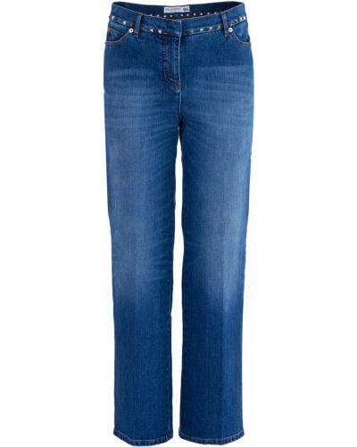 Расклешенные джинсы с карманами Valentino
