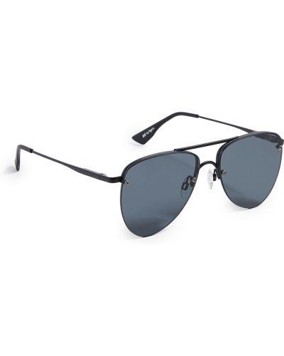 Мягкие черные солнцезащитные очки Le Specs