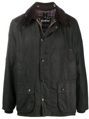 С рукавами коричневая куртка вельветовая Barbour