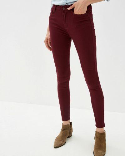Зауженные джинсы - красные G&g