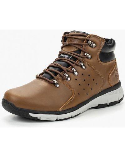 Ботинки осенние кожаные высокие Ascot