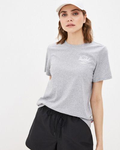 Серая футболка Herschel Supply Co