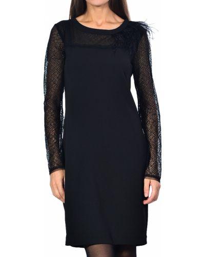 Черное платье осеннее Trussardi Jeans