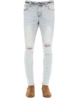 Niebieskie jeansy bawełniane The People Vs