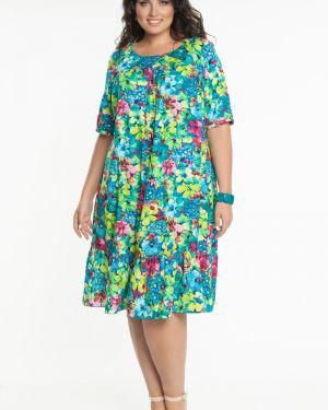Летнее платье из штапеля платье-сарафан прима линия