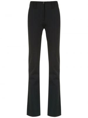 Черные расклешенные брюки Gloria Coelho