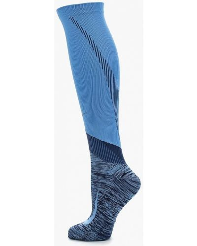 Голубые гетры Nike