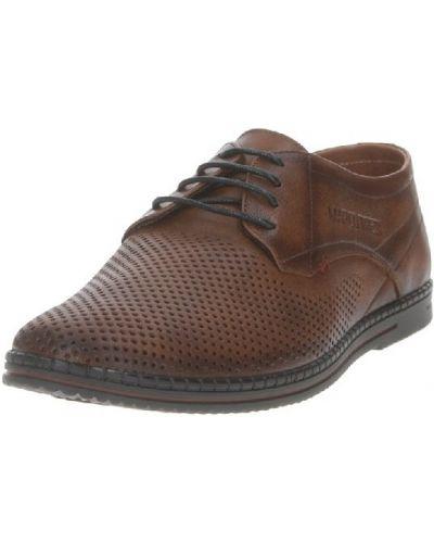 Коричневые итальянские ботинки Marco Tredi