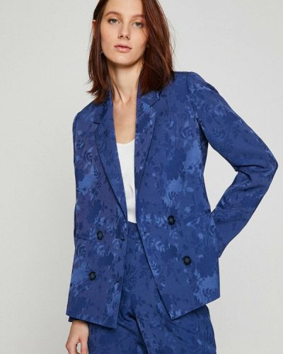 Синий пиджак Koton