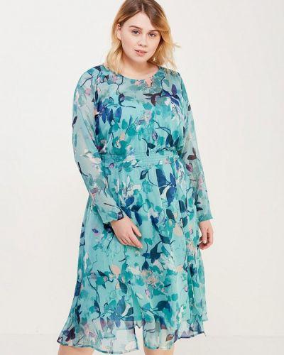 Бирюзовое платье весеннее Junarose