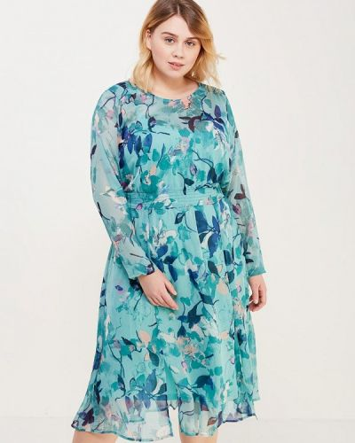 Бирюзовое платье Junarose