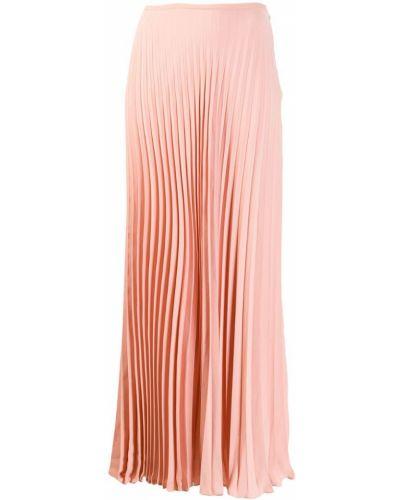 Бежевая ажурная юбка макси Noon By Noor
