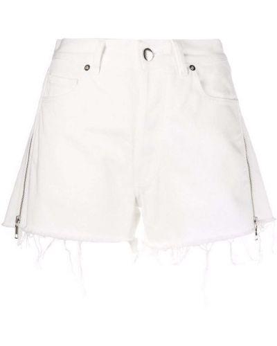 Белые джинсовые шорты Almaz