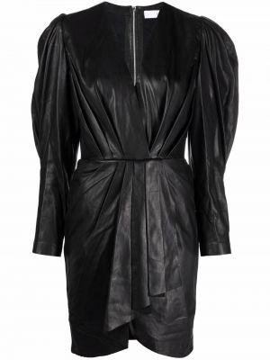 Шелковое платье мини - черное Iro