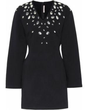 Вечернее платье мини черное Christopher Kane