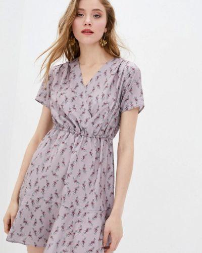 Фиолетовое платье с запахом 7arrows