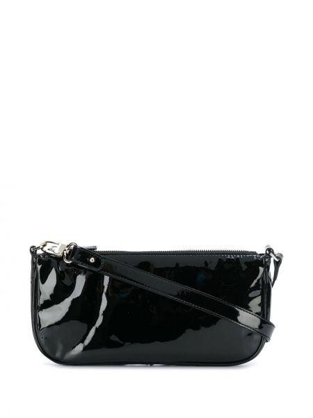 Кожаная сумка - черная By Far