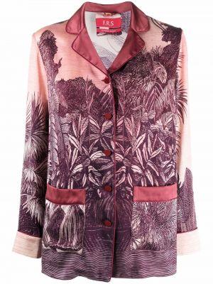 Пиджак длинный - розовый F.r.s. For Restless Sleepers