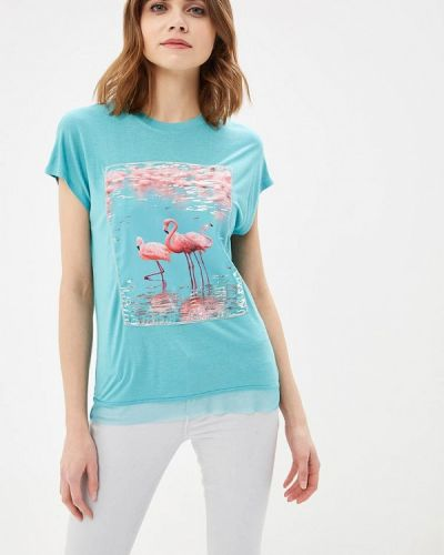 Бирюзовая футболка Zarina