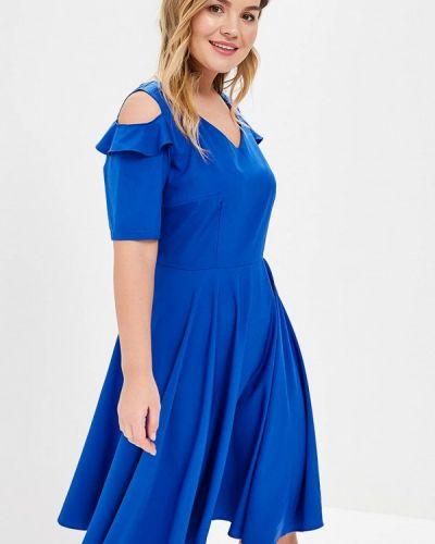 Платье - синее Wersimi