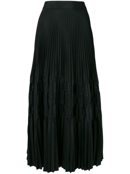 Плиссированная юбка с завышенной талией макси Givenchy